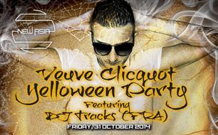 New Asia: Veuve Clicquot Yelloween Party