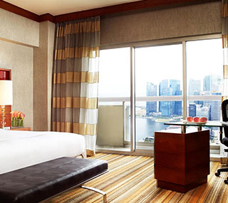 Classic Harbour View Room at Swissotel The Stamford