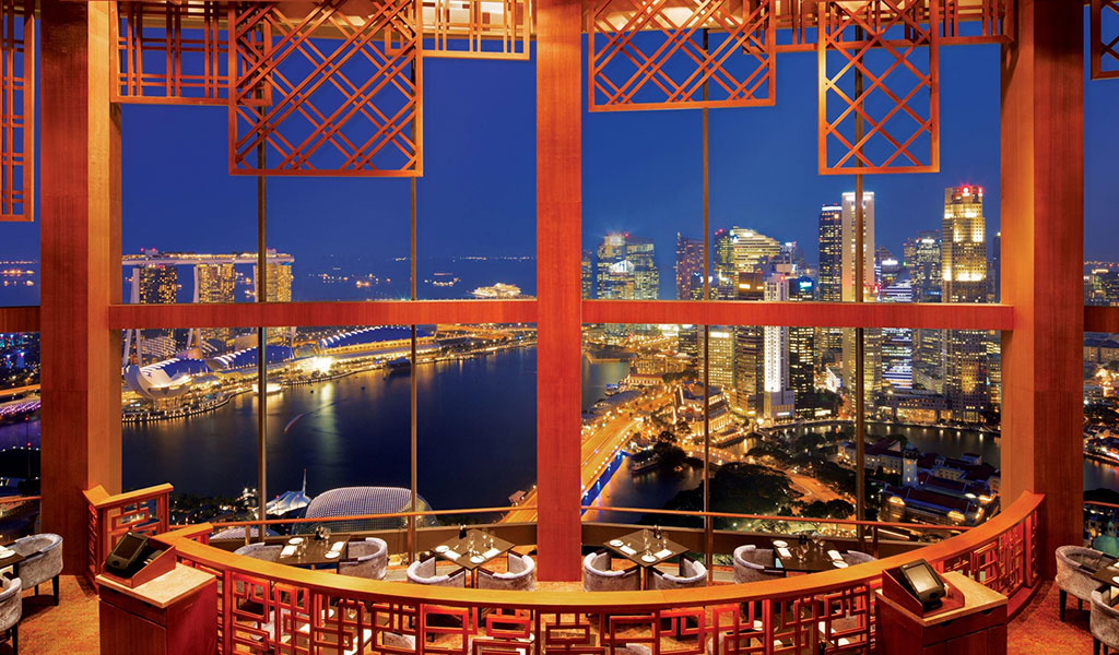 Equinox Restaurant Dining Luxury Hotel Singapore