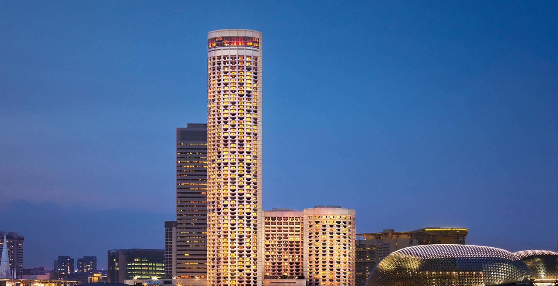 Swissotel The Stamford(スイスホテル スタンフォード シンガポール)の外観