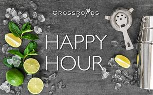 Happy Hour at Crossroads Bar