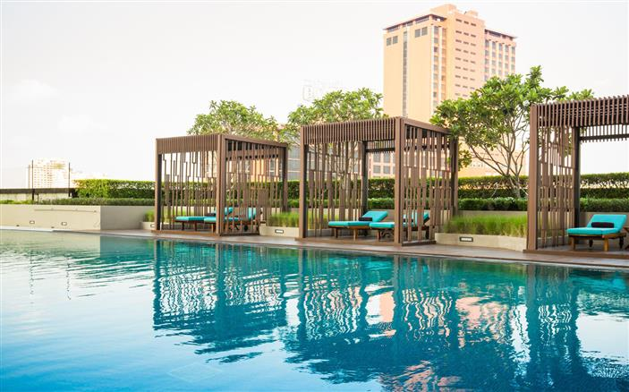 Fitness & Pool at Swissotel Le Concorde Bangkok