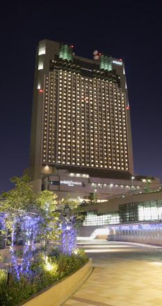 Aussenansicht des Swissôtel Nankai Osaka