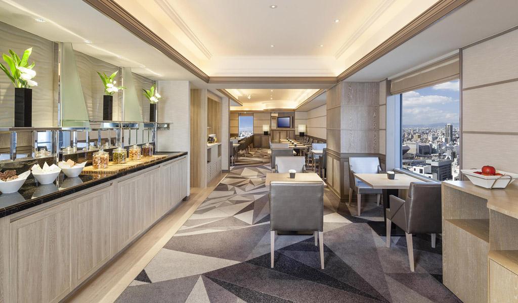 Swissotel Nankai Osaka'da Swiss Executive Club Lounge