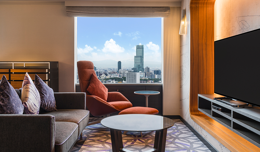 Deluxe Suite - Twin - at Swissotel Nankai Osaka