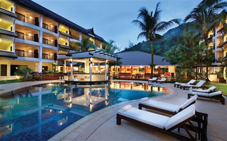 Poolbar im Swissôtel Resort Phuket