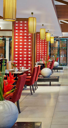 Swissotel Resort Phuket Kamala Beach(スイスホテル リゾート プーケット カマラ ビーチ)のカフェ スイス