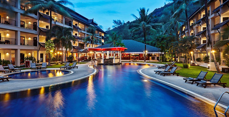 سويس أوتيل فوكيت (Swissotel Phuket)، المنظر الخارجي