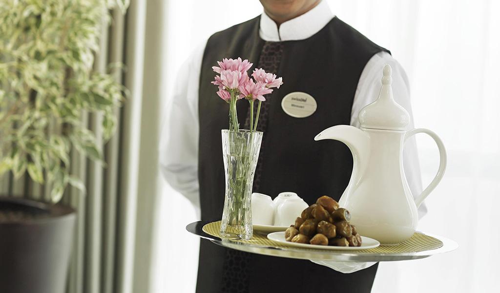 Swıssotel Mekke'de Odada Yemek Servisi