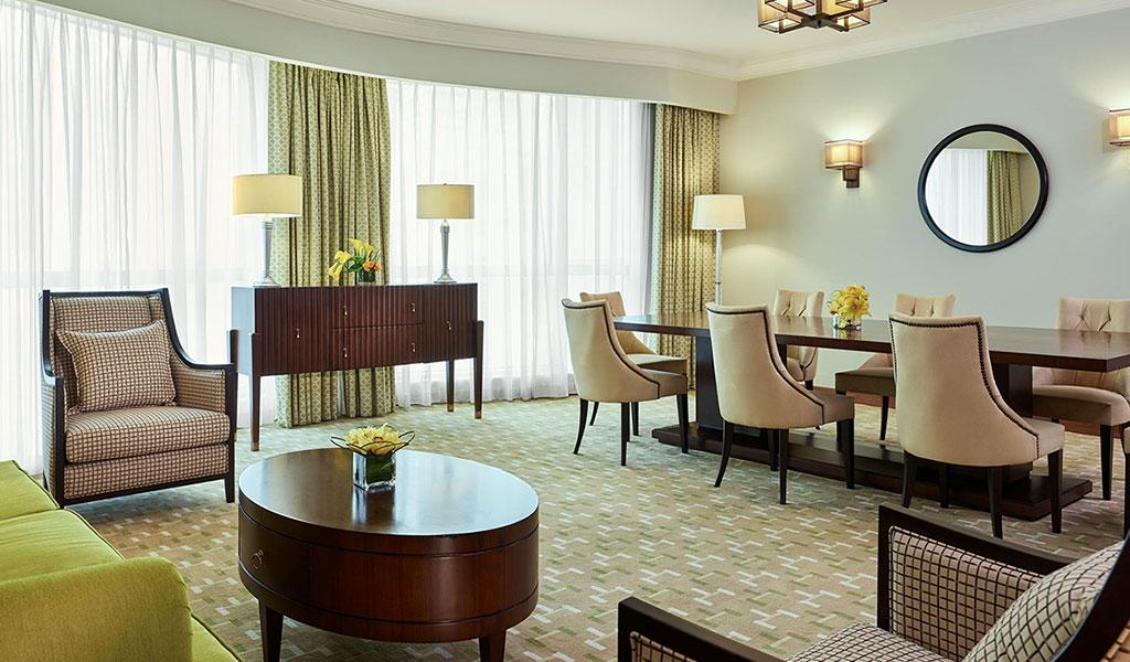 Swissotel Room Service Menu