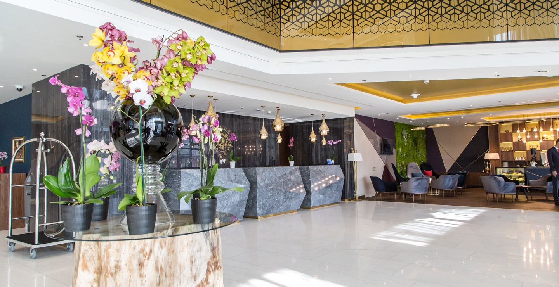 萨拉热窝瑞士酒店大堂