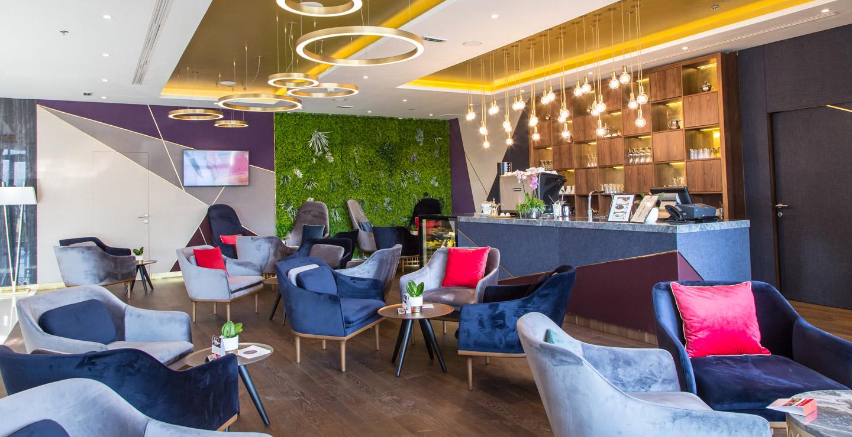 استراحة الردهة في فندق سويس أوتيل سراييفو (Swissotel Sarajevo)