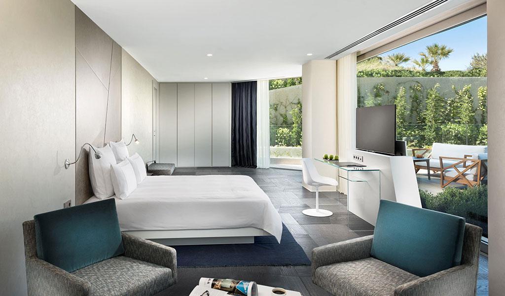 博德鲁姆海滩瑞士度假酒店拐角园景套房