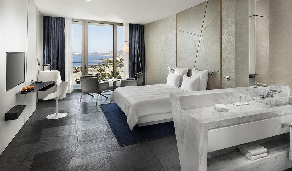 Habitación Swiss Select con vista al mar y cama King