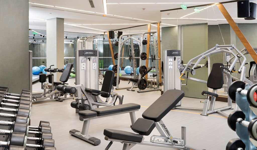 Fitnesscenter im Swissôtel Resort, Bodrum Beach
