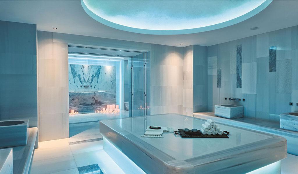 博德鲁姆海滩瑞士度假酒店的土耳其浴室