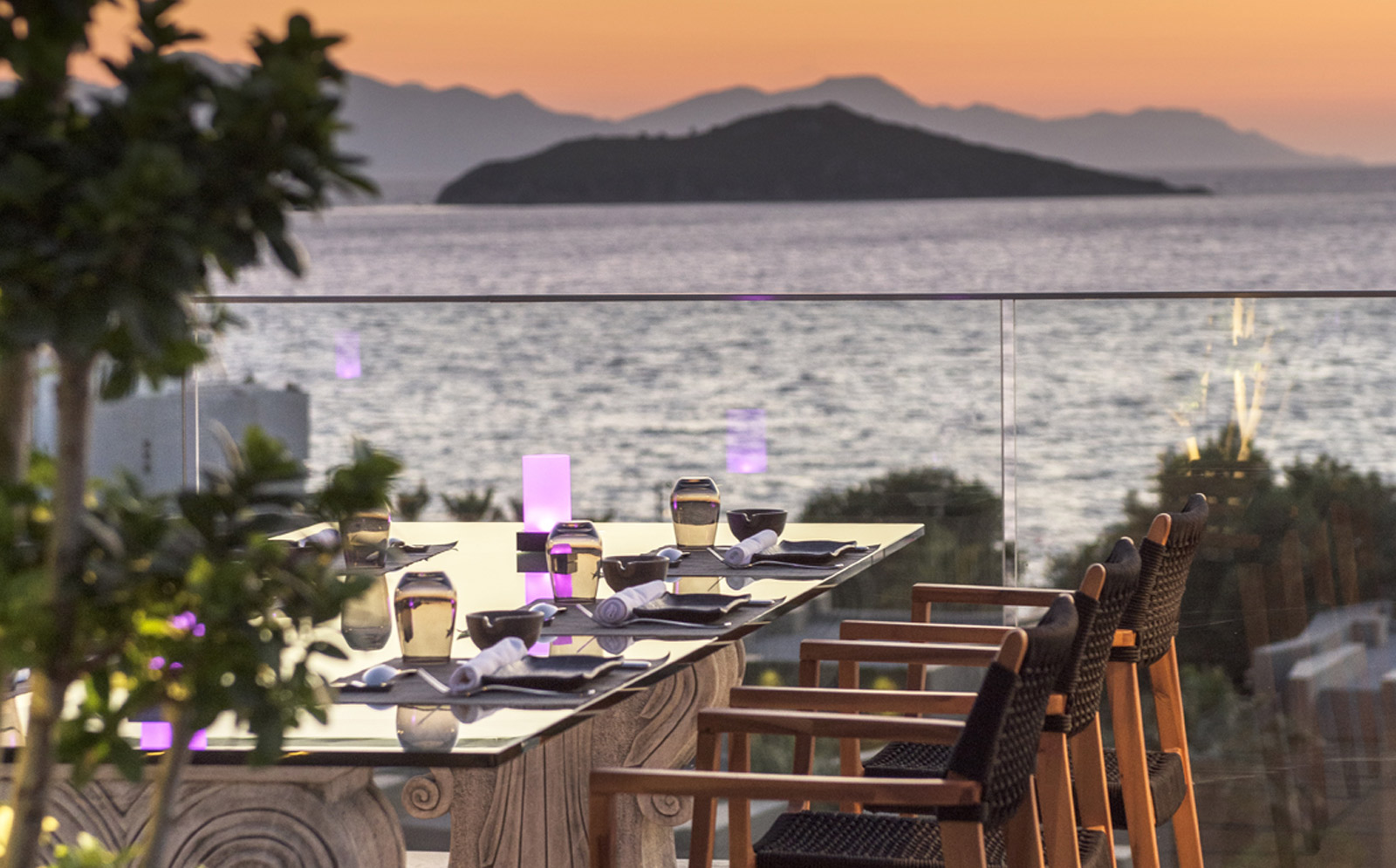 YUHI RESTAURANT at Swissotel Resort, Bodrum Beach