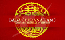 Baba (Peranakan) Wedding Festival in Phuket