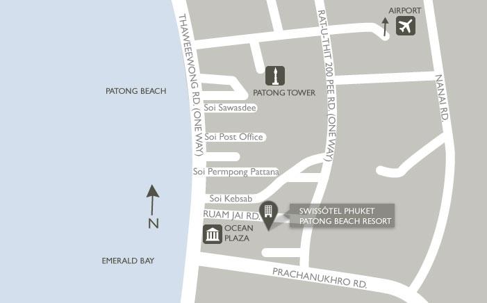 Swissotel Resort Phuket(スイスホテル リゾート プーケット)の地図