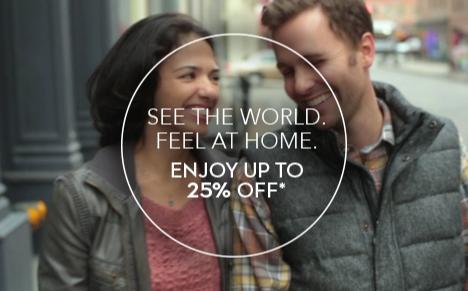 長期のご滞在でさらに割引。ご宿泊料金が最大25%割引に*