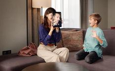 スイスホテル キッズルームの赤ちゃん